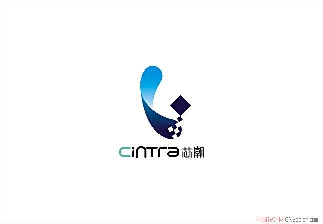 中文字体设计 标志设计 心潮