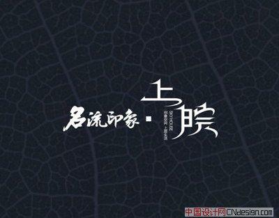 中文字体设计 标志设计 上皖